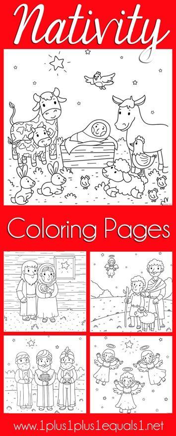 Christmas Nativity Coloring Pages | Navidad, Colorear y Pesebre