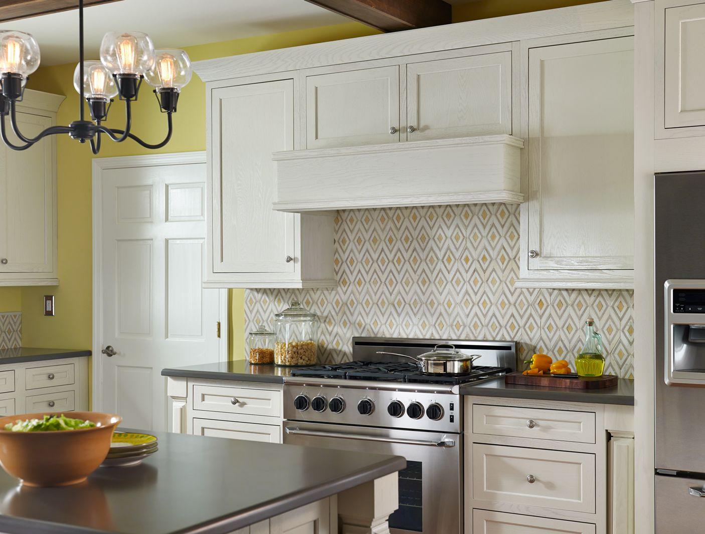 Cape Town Diamond In The Rough Geel 9x15 Mosaic Small Kitchen Cabinets Kitchen Cabinet Kings Kitchen