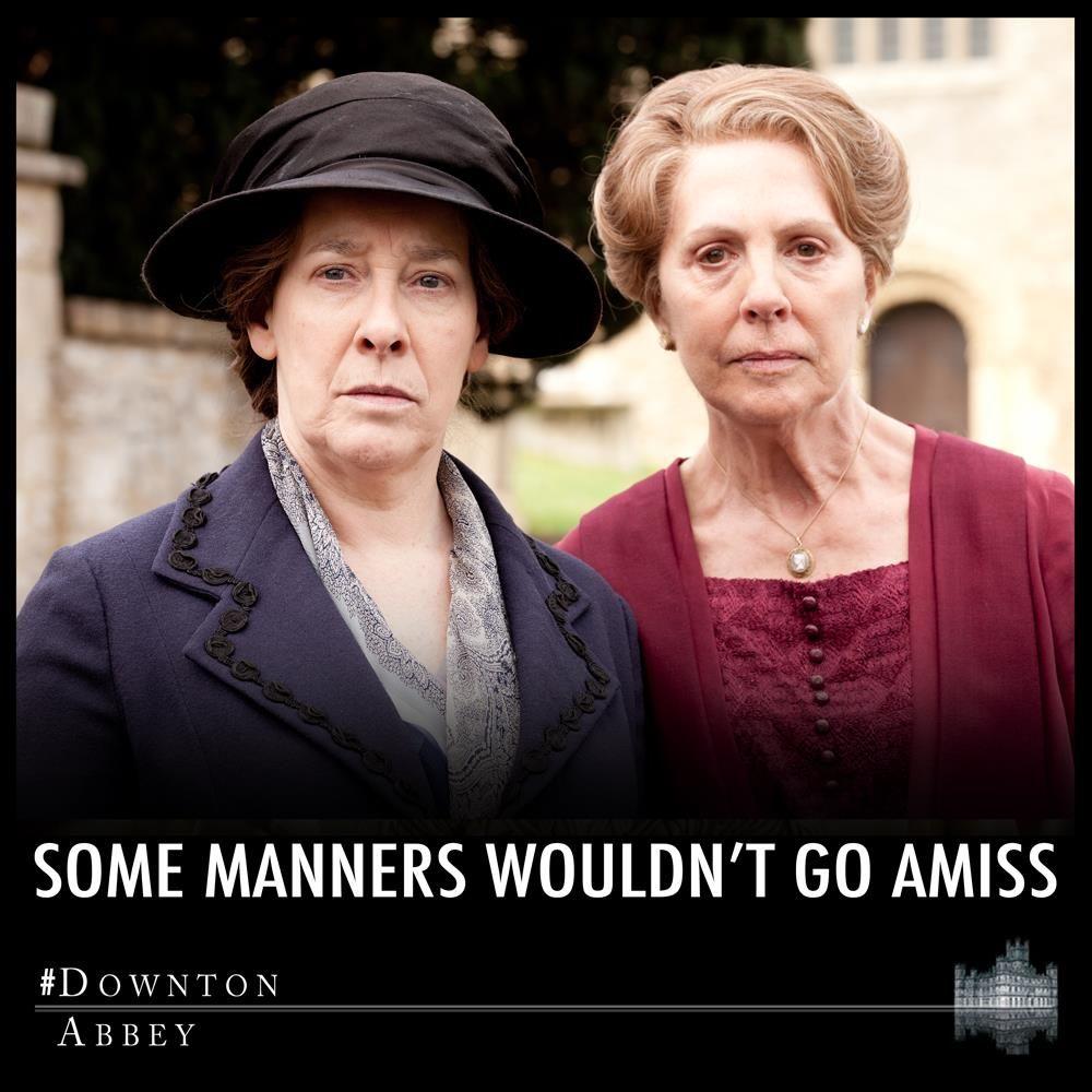 Downton Abbey Recap A Shocker Downton Abbey Characters