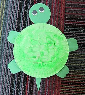 Letter T - Paper Plate Turtle (use hot glue to draw lines on plate before & Letter T - Paper Plate Turtle (use hot glue to draw lines on plate ...
