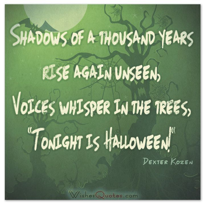 Beau 40 Funny Halloween Quotes, Scary Messages And Free Cards