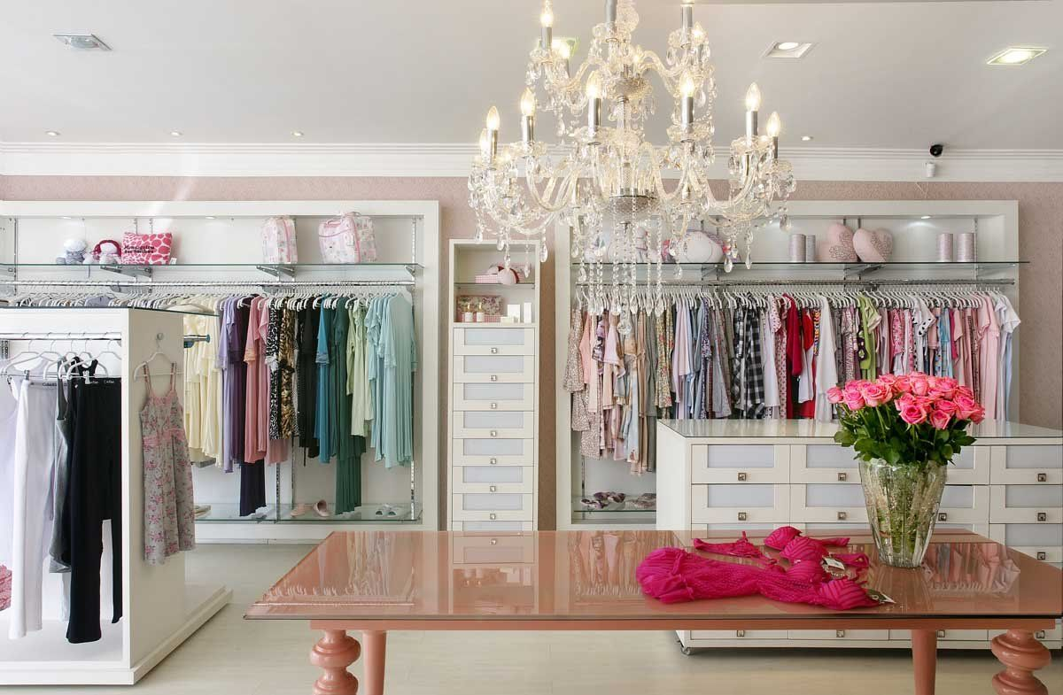 loja feminina loja Pinterest Design -> Decoracao Para Loja Feminina Pequena