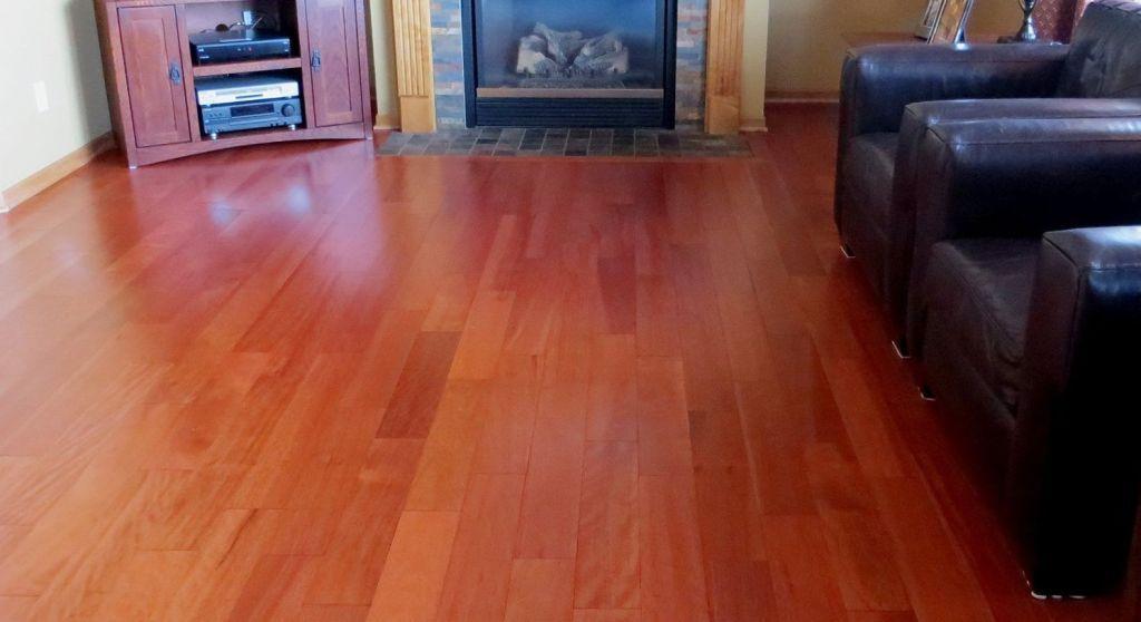 Interior Antique Dupont Dark Cherry Block Laminate Flooring Also