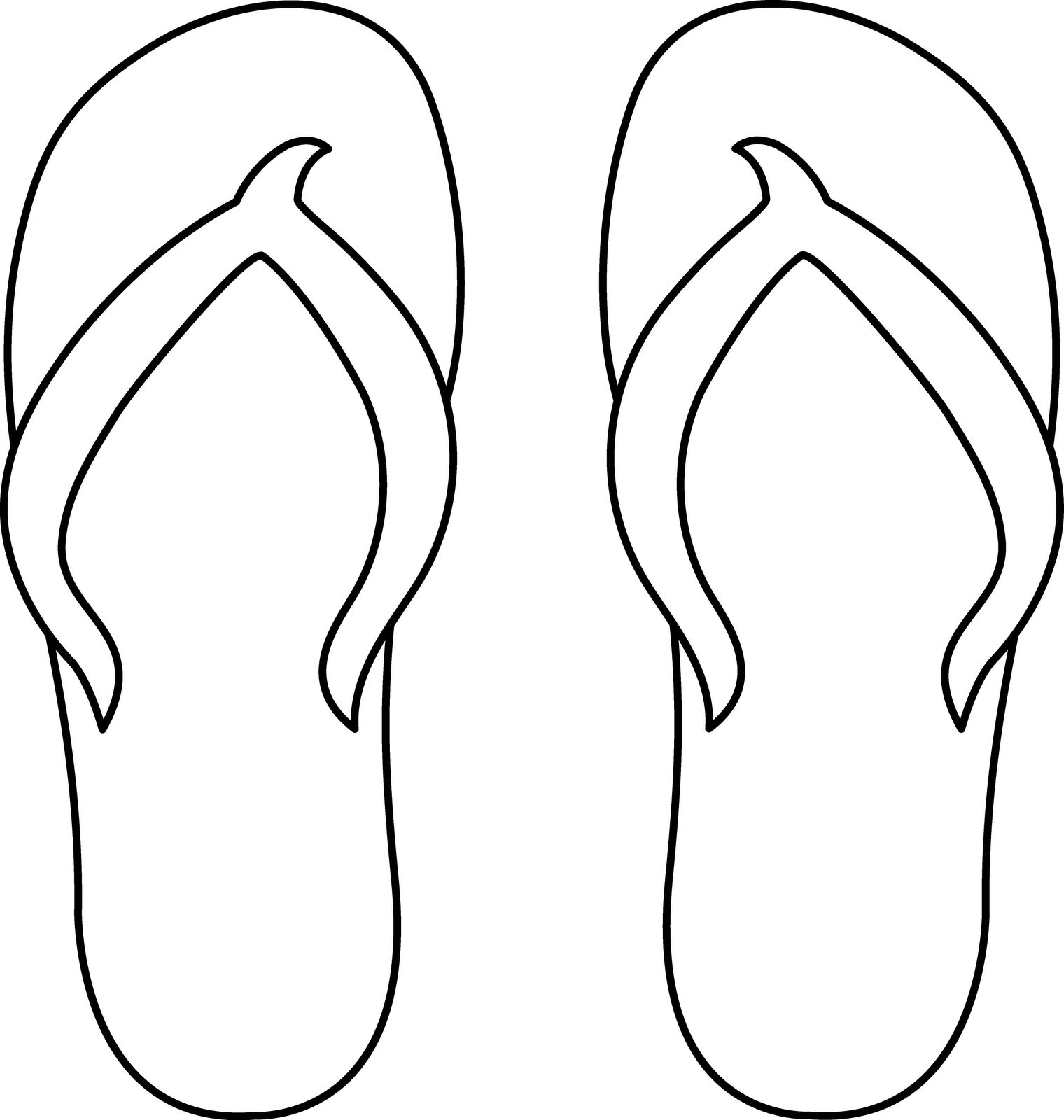 Another pinner said -flip flop template we made many of them and put ...
