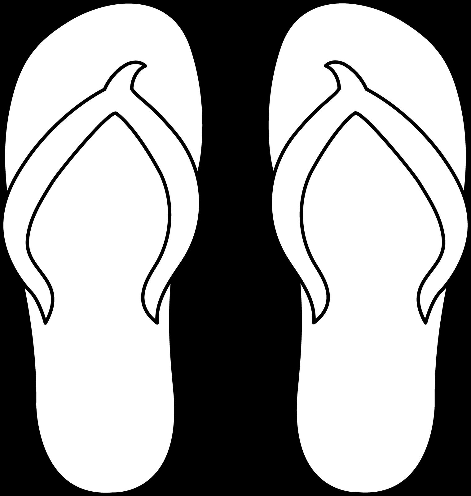 Flip Flop Silhouette