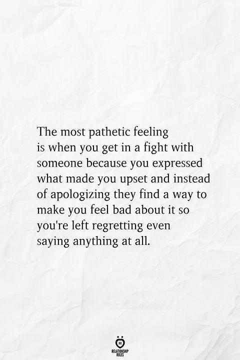 Photo of Das erbärmlichste Gefühl ist, wenn Sie mit jemandem in einen Kampf geraten, weil Sie sich aus…