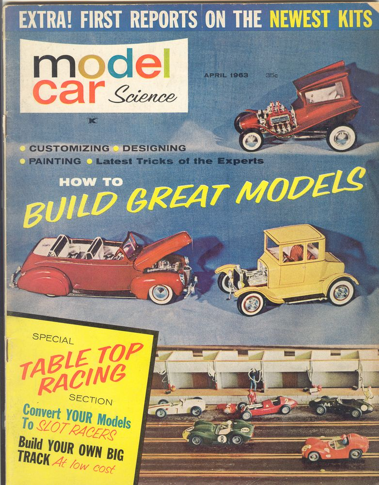 Model Car Science Magazine Tons Of Fun Packed Into These Magazines
