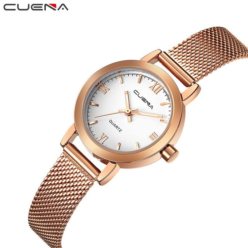 0e9a69ffb5f Comprar Cuena lujo Relojes de mujer mujeres reloj de cuarzo relojes reloj  mujer montre Femme Relogio