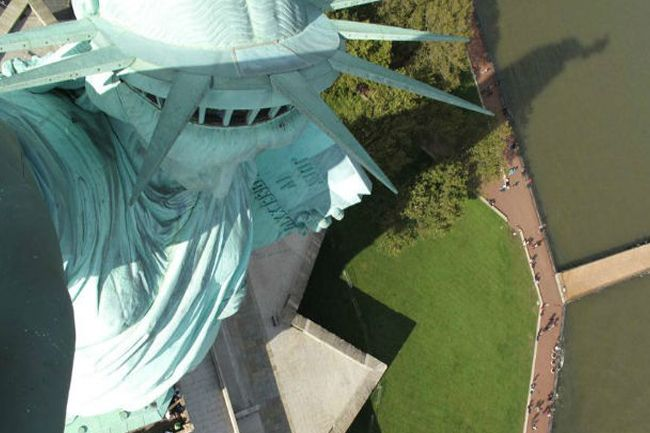 Webcam desde la Estatua de la Libertad