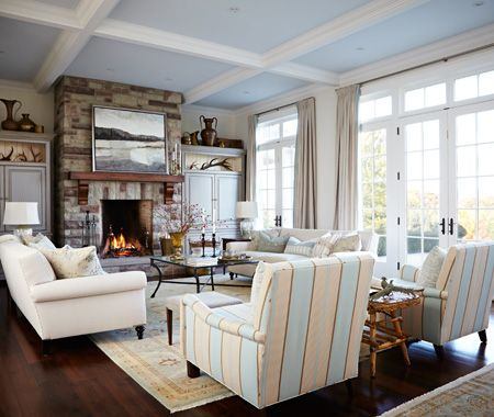 Photo gallery sarah richardson designs home building - Family room decorating ideas ...