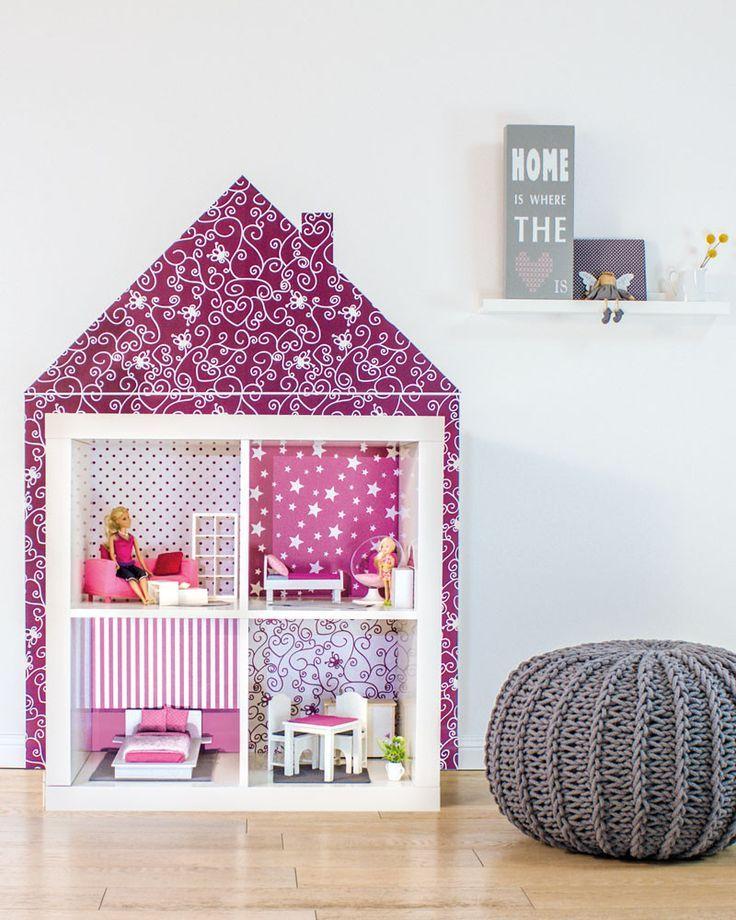 Ikea Hack Van Open Kast Naar Poppenhuis Meisjesdromen