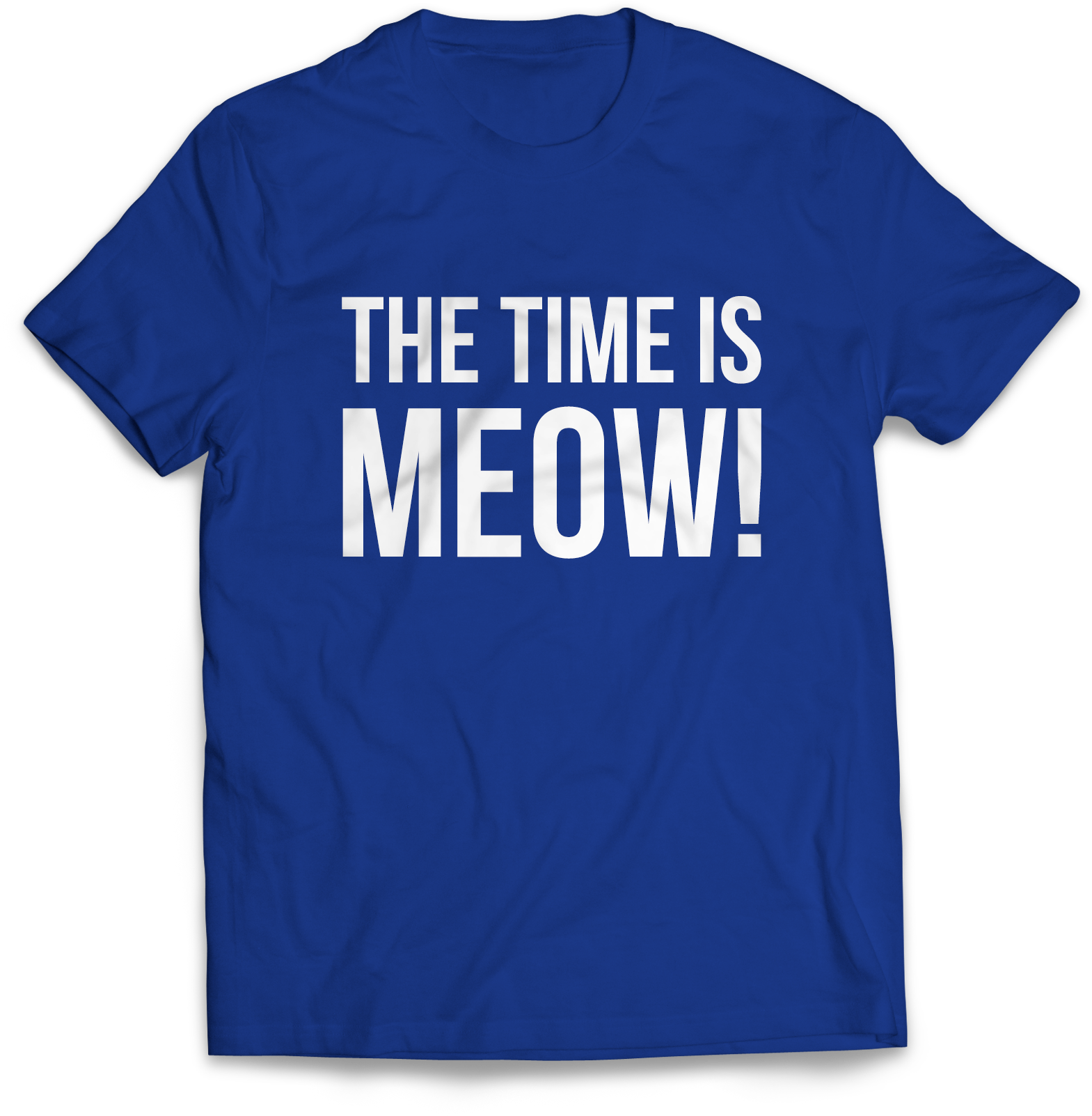 The Time Is Meow!
