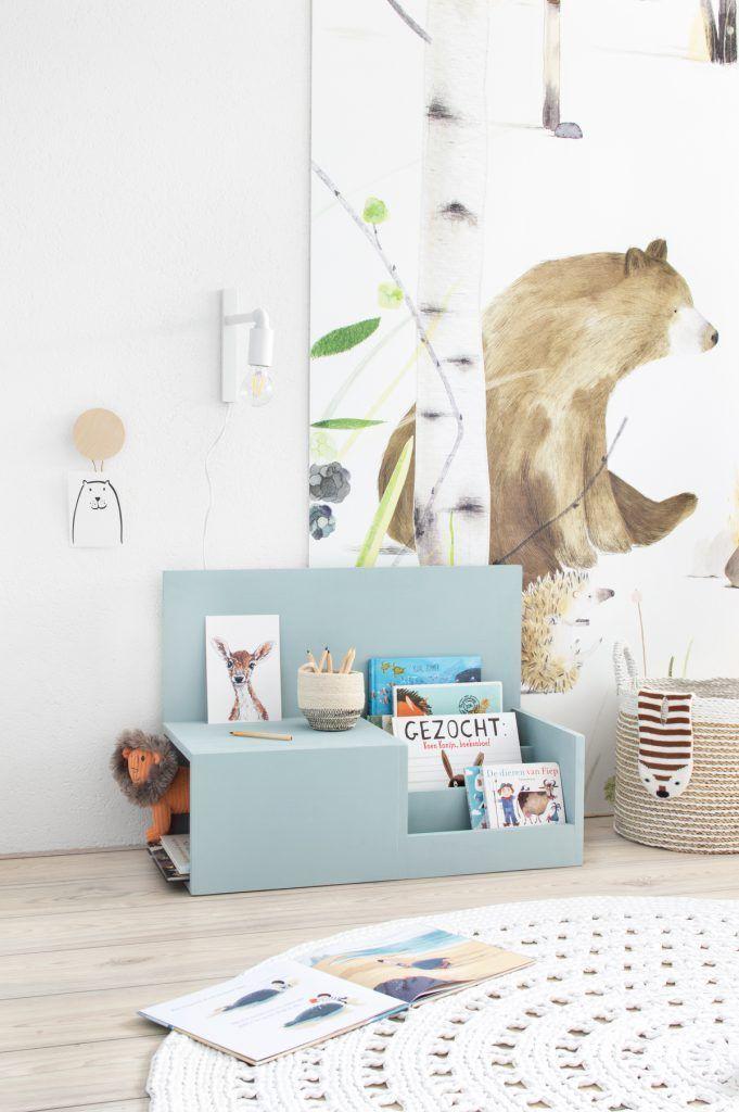 Photo of DIY: leesbankje met opbergruimte voor de kinderkamer – Tanja van Hoogdalem