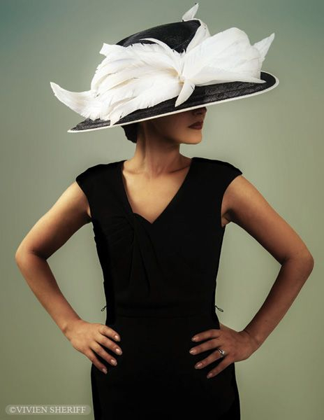 Vivien Sheriff Millinery for the Races
