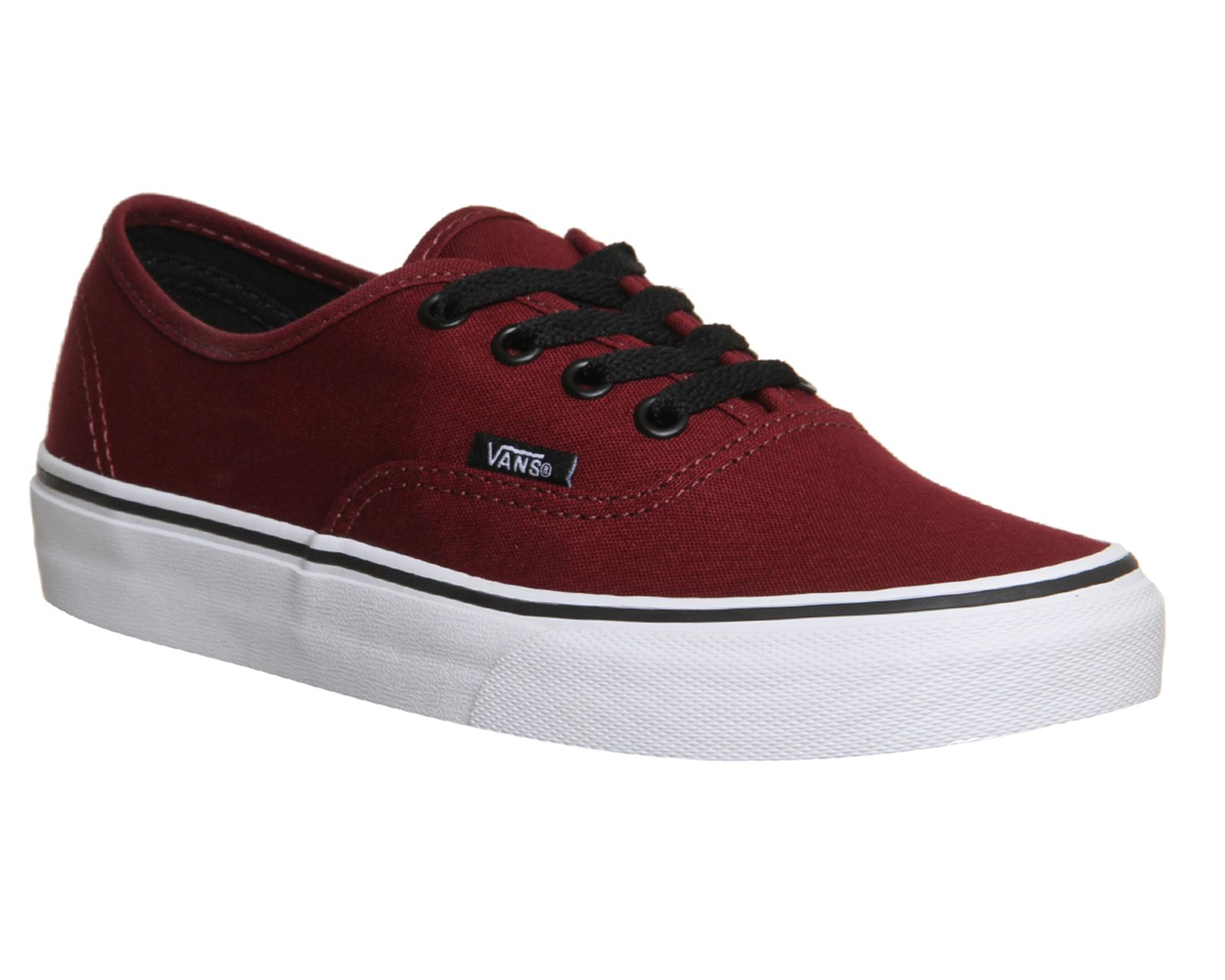 vans authentic black 41