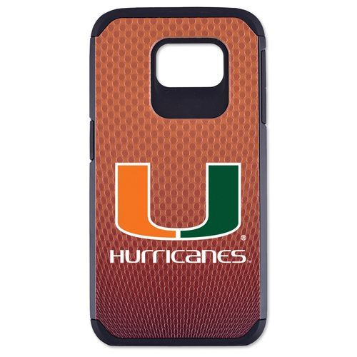 GameWear University of Miami Classic Football Pebble Grain Feel Samsung Galaxy 6 Case