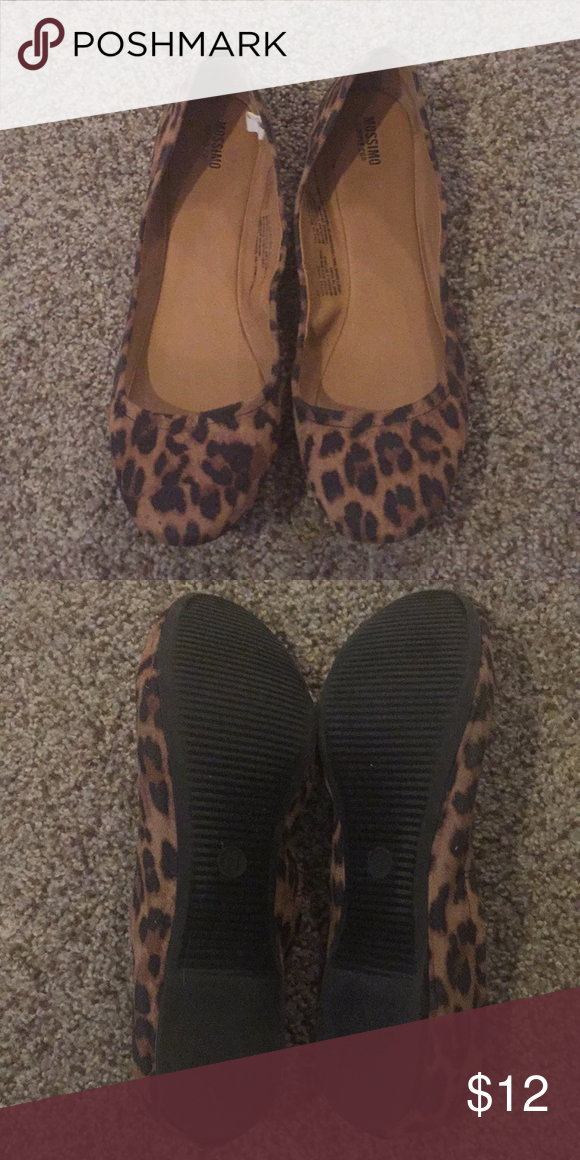 c79d29c2d362 Mossimo Leopard Print Flats Size 11 Like new, only worn a couple of times Mossimo  Supply Co Shoes Flats & Loafers