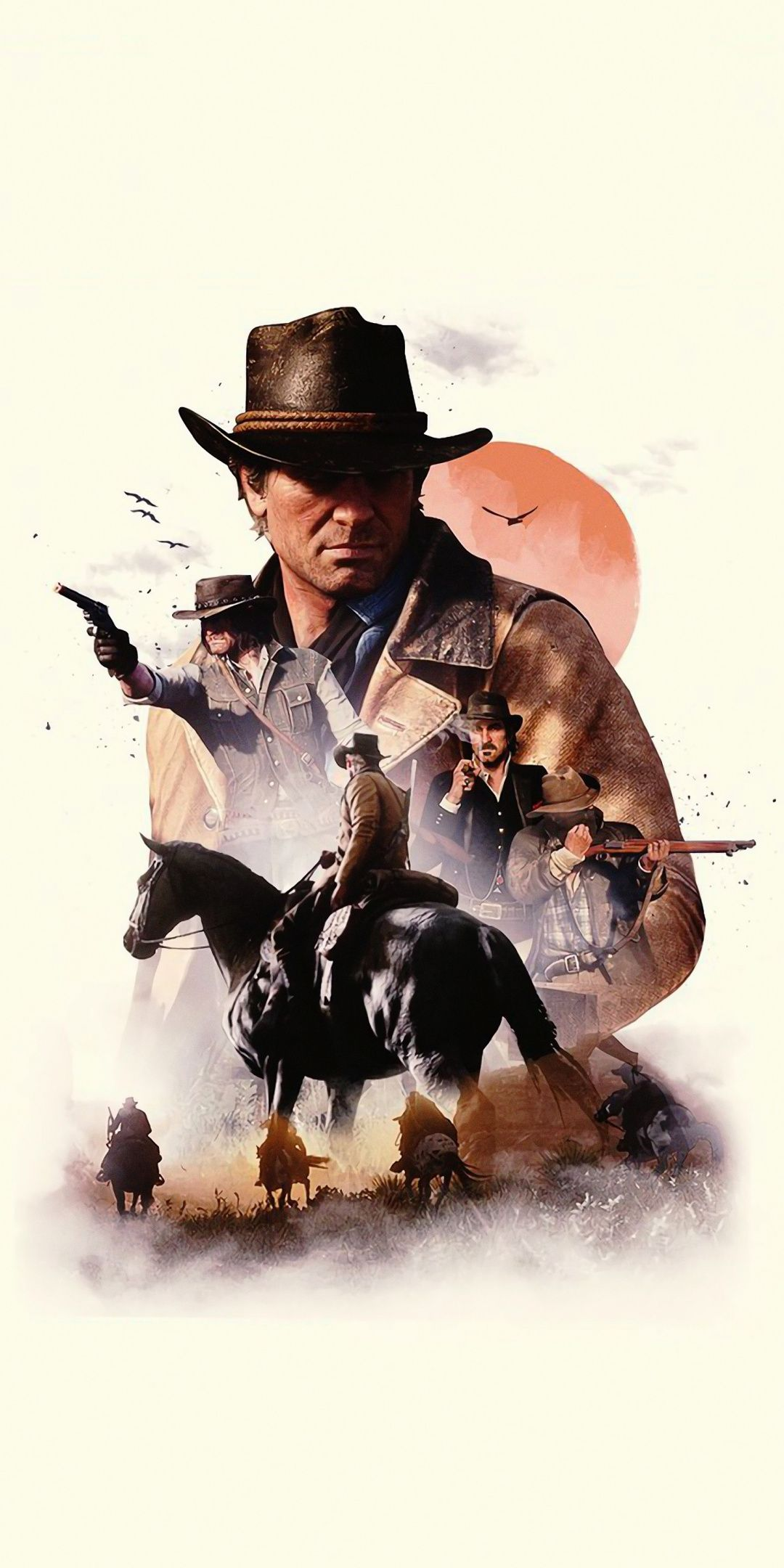 Video Game Poster Red Dead Redemption 2 Minimal 1080x2160 Wallpaper Red Dead Redemption Artwork Red Dead Redemption Art Red Dead Redemption Ii