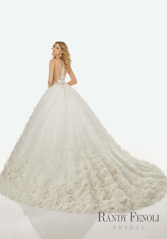 Randy Fenoli Wedding Dresses.Randy Fenoli Bridal Brandi Wedding Dress Style 3424 Diamante And