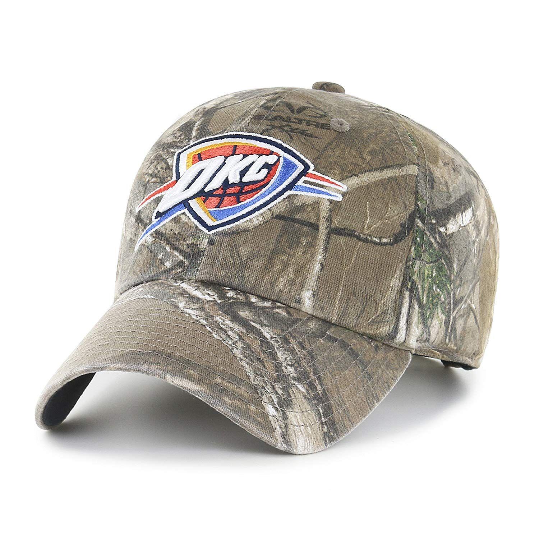 buy online 8068e 3874e NBA Oklahoma City Thunder Realtree OTS Challenger Adjustable Hat,  18.27