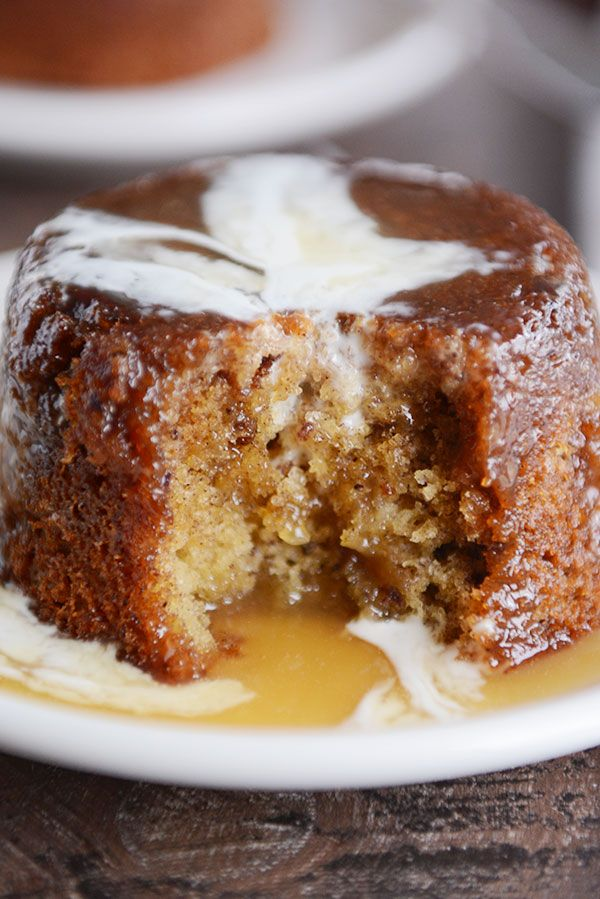 Sticky Toffee Pudding Cake Recipe Cooking Sweet Treats
