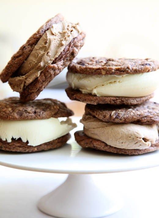 Ice Cream Sandwich Recipe | ZoëBakes | eat dessert first #icecreamsandwich
