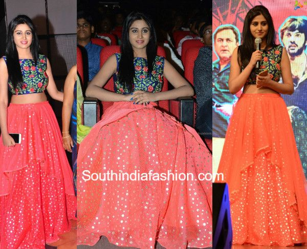 e10e38d430ac1 Shamili in Crop Top and Lehenga