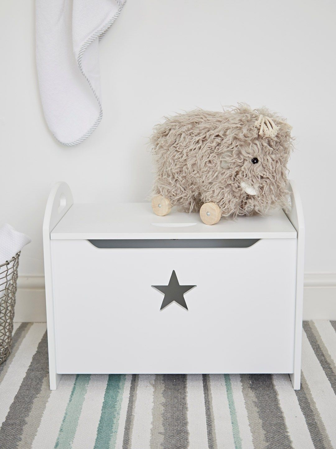Star Storage Box Nursery Scandi Children S Design Toy