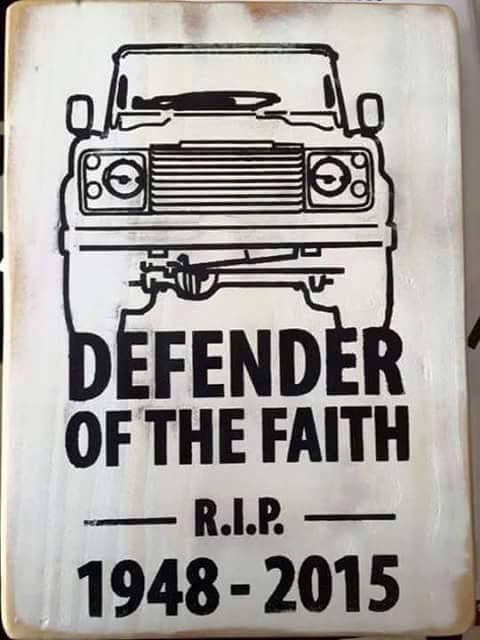 4x4 Off Road Defender 90 110 Series LAND ROVER Because Dirt Sticker Stickers
