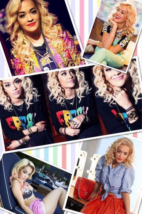 6903185e Rita Ora collage | Ritaa Oraa | T shirts for women, Rita ora, Tops