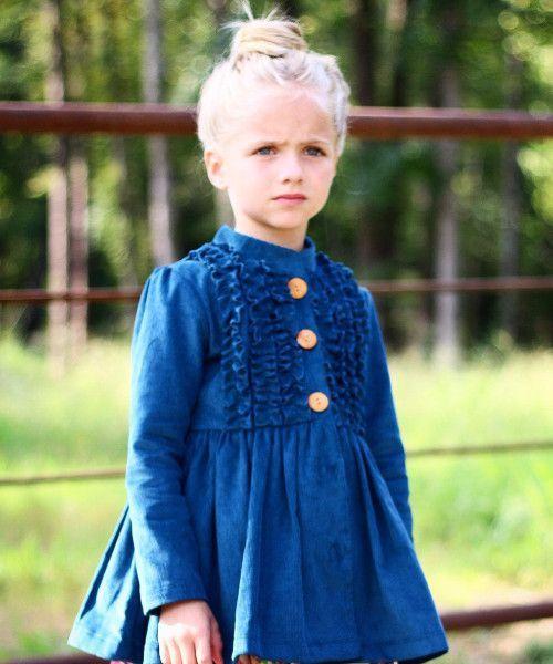 Belle Corduroy Jacket - Rain (Presale) | Products | Pinterest