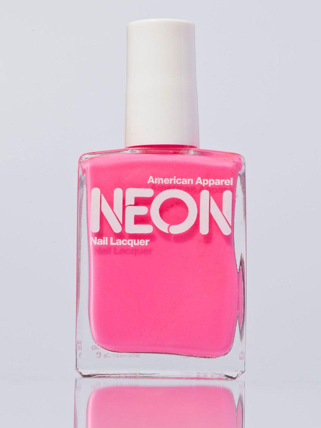 Neon Nail Polish Shop American Apparel Neon nails