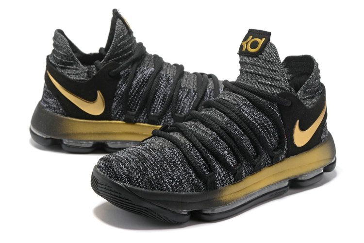 best website 54fe7 d25bc KD 10 X EP Oreo Gold 897816 001 Kevin Durant Mens Basketball Shoes 2018  Purchase