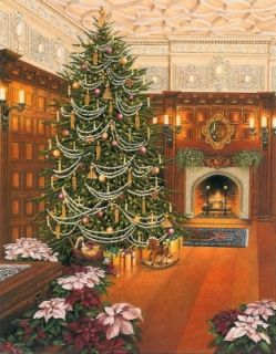 Biltmore Christmas.Christmas At The Biltmore Teresa Pennington Artist