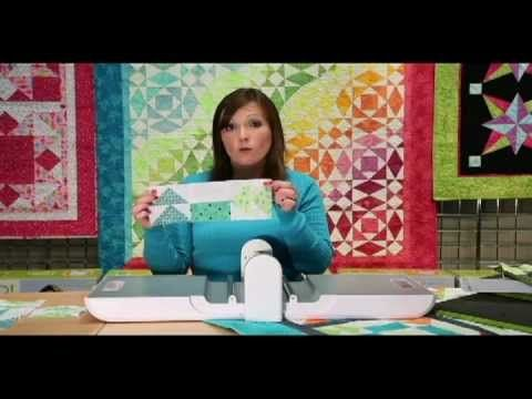AccuQuilt Angle Play Block of the Month #2 - Apple Pie