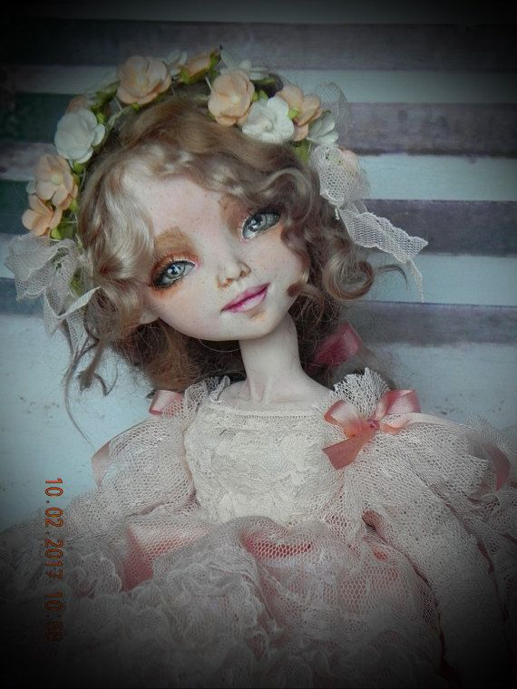 Künstler- & handgemachte Puppen OOAK ART DOLL LOIS Puppen Spielzeug