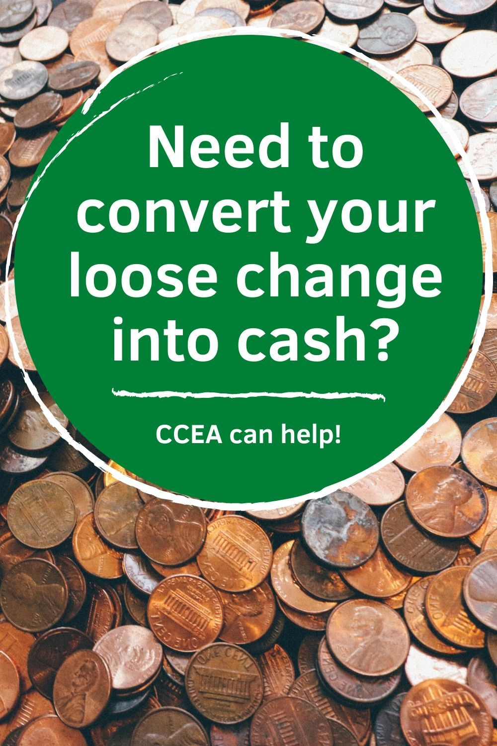 Loose Change Counting Coins Coins Cash