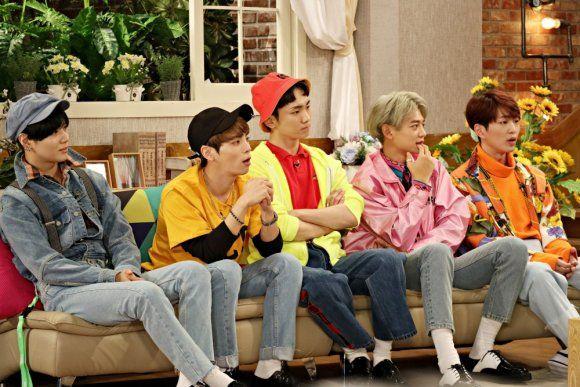161020 #SHINee - KBS Happy Together Website Update #Minho #Taemin