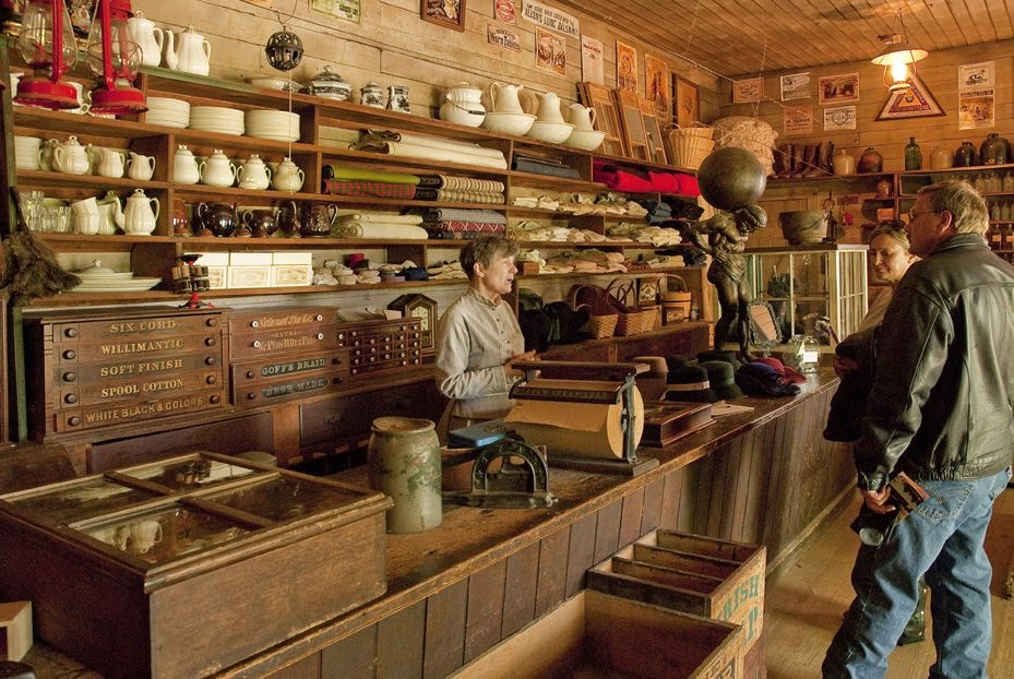 Kitchen Pantry Old West General Store