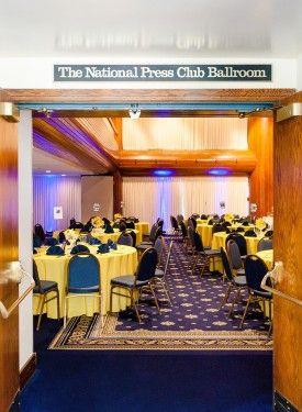 National Press Club Wedding