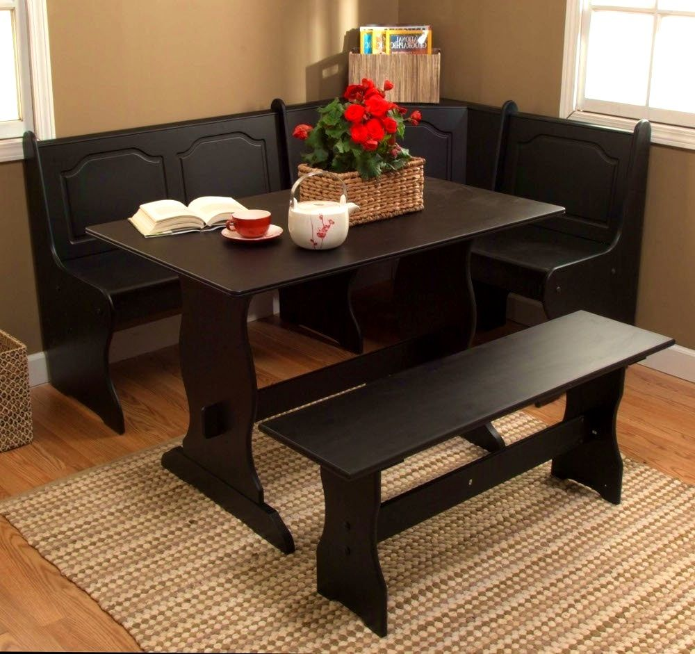 Furniture Lovable Corner Kitchen Table Set Ideas Home Interiorshome Interiors Bench And Chair Breakfast Nook Furniture Small Space Dining Set Nook Dining Set