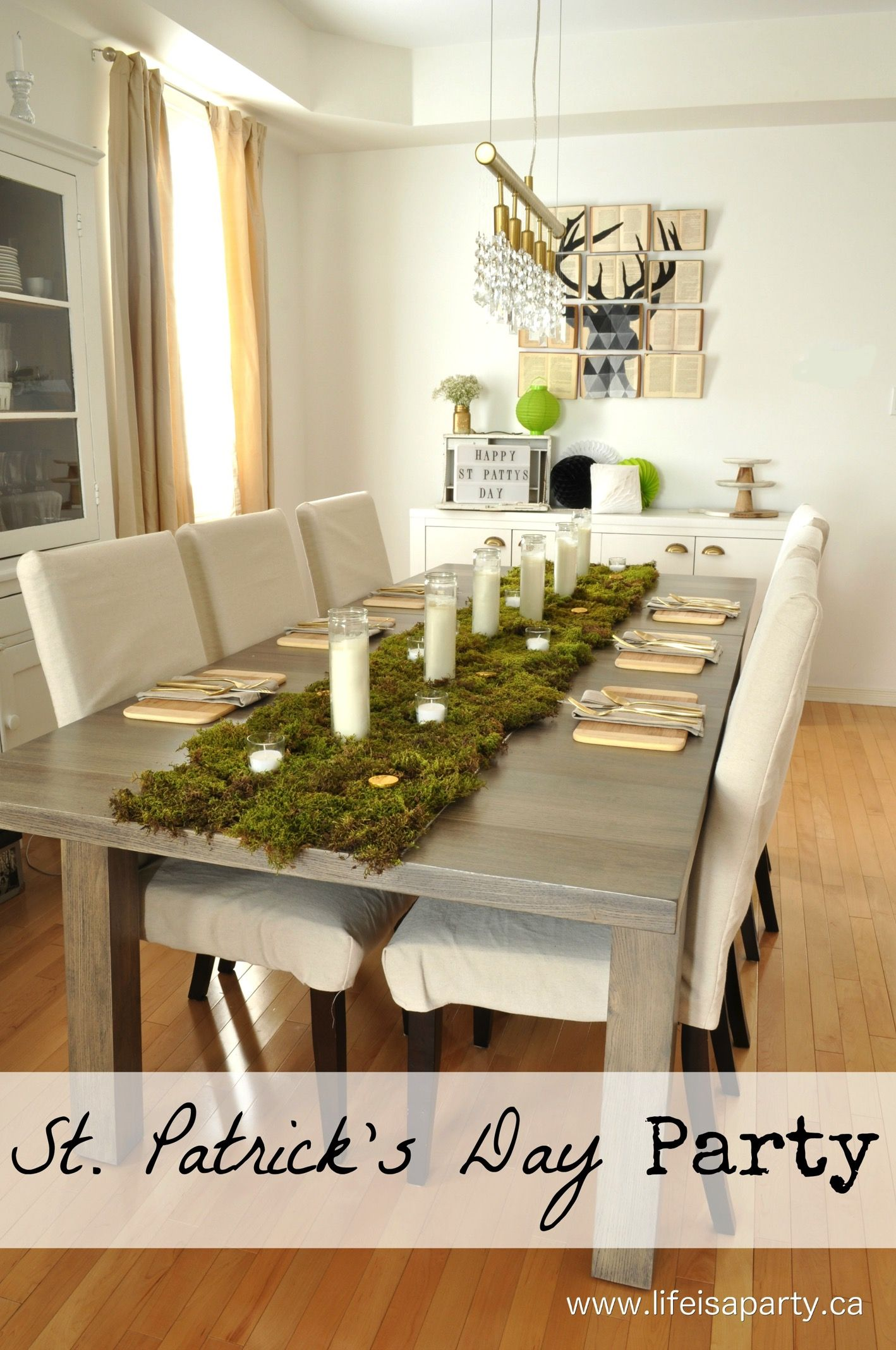 St. Patrick' Day Party -modern And Simple