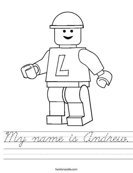 Lego Worksheet | Lego coloring pages, Lego coloring ...