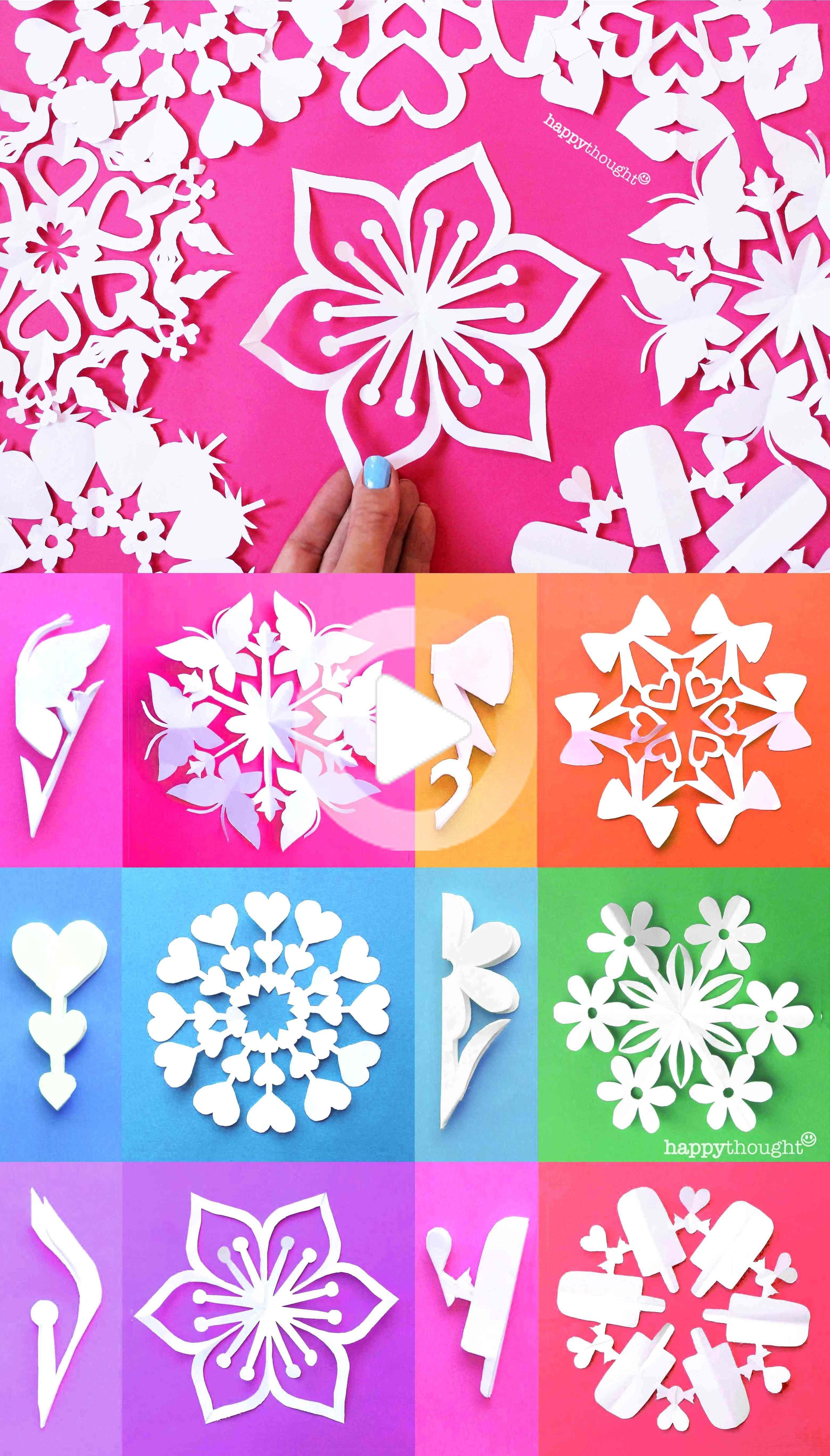 Make These Gorgeous Diy Snowflakes Today In