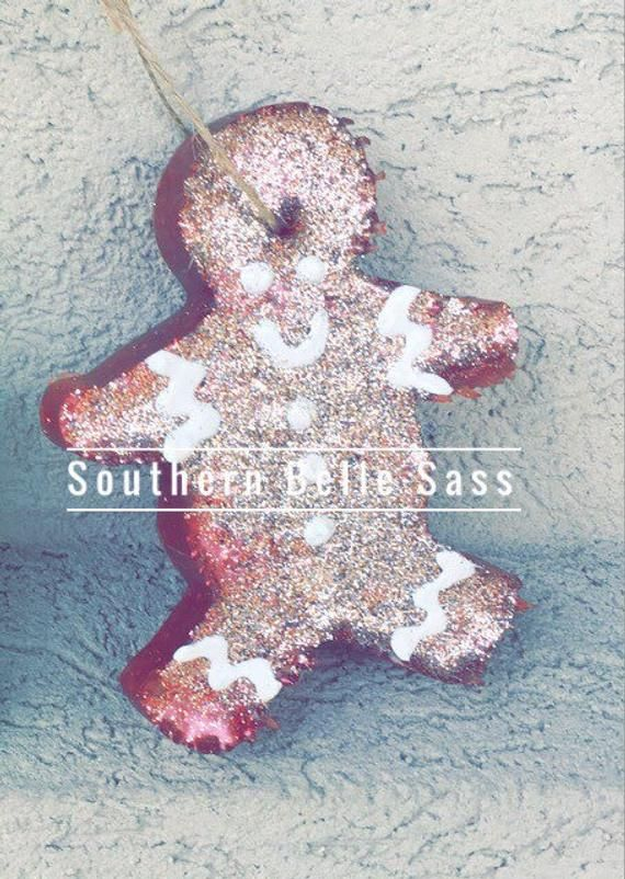 Gingerbread Man_Aroma Bead Air Freshener Car Scents Candle