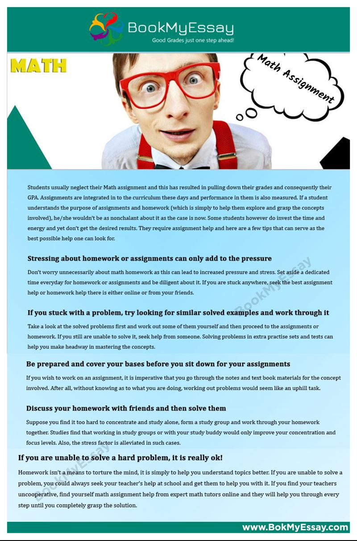 Math Assignment Help | Assignment Help Infographics | Pinterest | Math