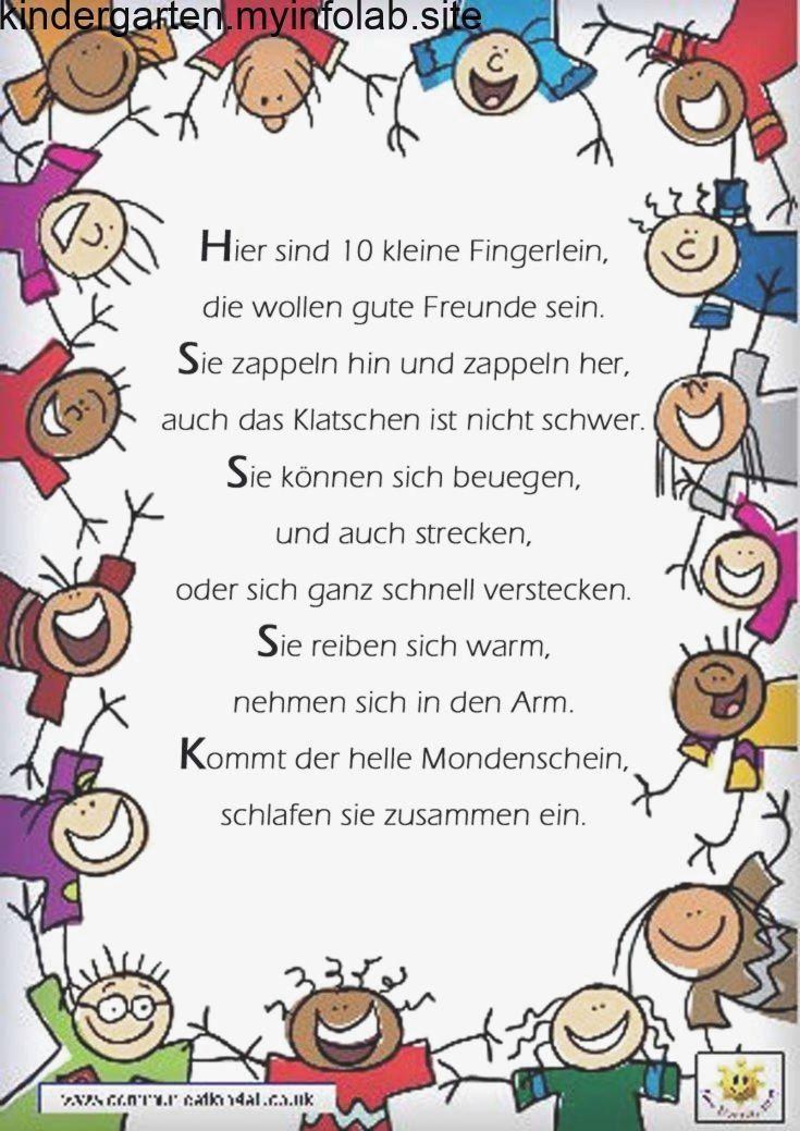 Fingerspiel Reim Gedicht Kindergarten Erzieherin Kita Kinder Erziehung,  #endoft...,Fingerspi...