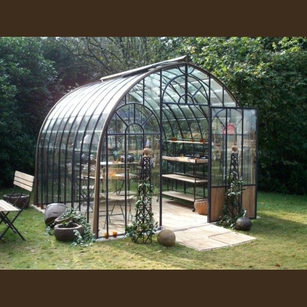 serre de jardin en fer forgé | GREENHOUSEs | Pinterest | Serre de ...