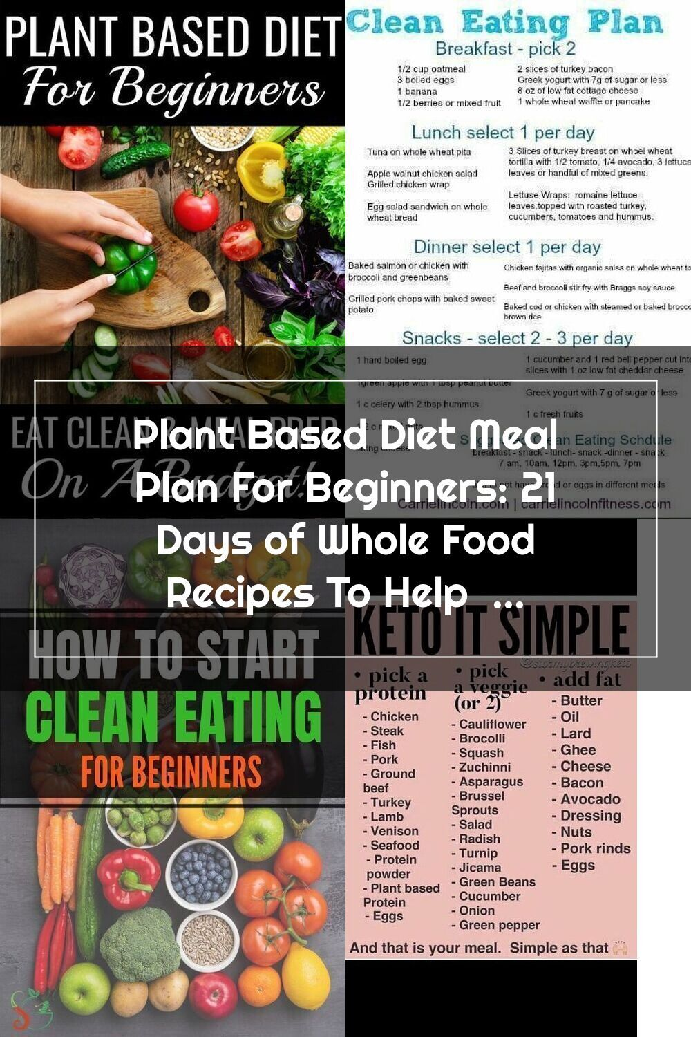Plant Based Recipes For Beginners This Easy Plant Based Diet Meal Plan Is Perfect For Begi In 2020 Plant Based Diet Meal Plan Plant Based Whole Foods Plant Based Diet