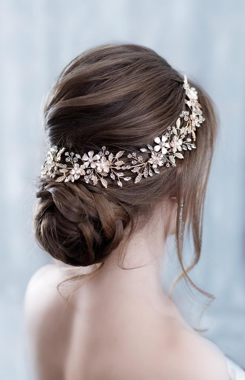 34+ Mariage coiffure accessoire des idees